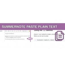 Summernote Вставляє Звичайний Текст
