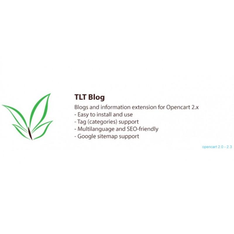 Блог ТЛТ: Блоги и Информационное Расширение для Опeнкарт
