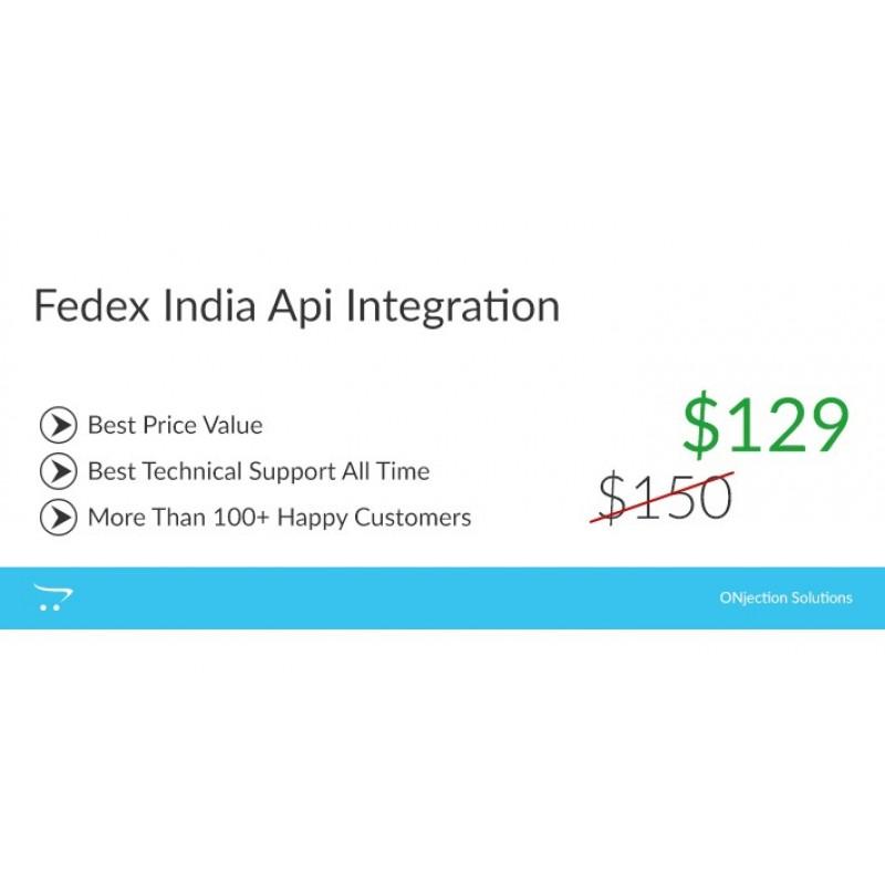 Fedex API Интеграция для Индии