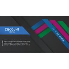 Discount Dates