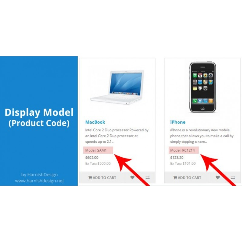 Display Model (Product Code)