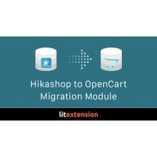 Миграция из HikaShop на OpenCart