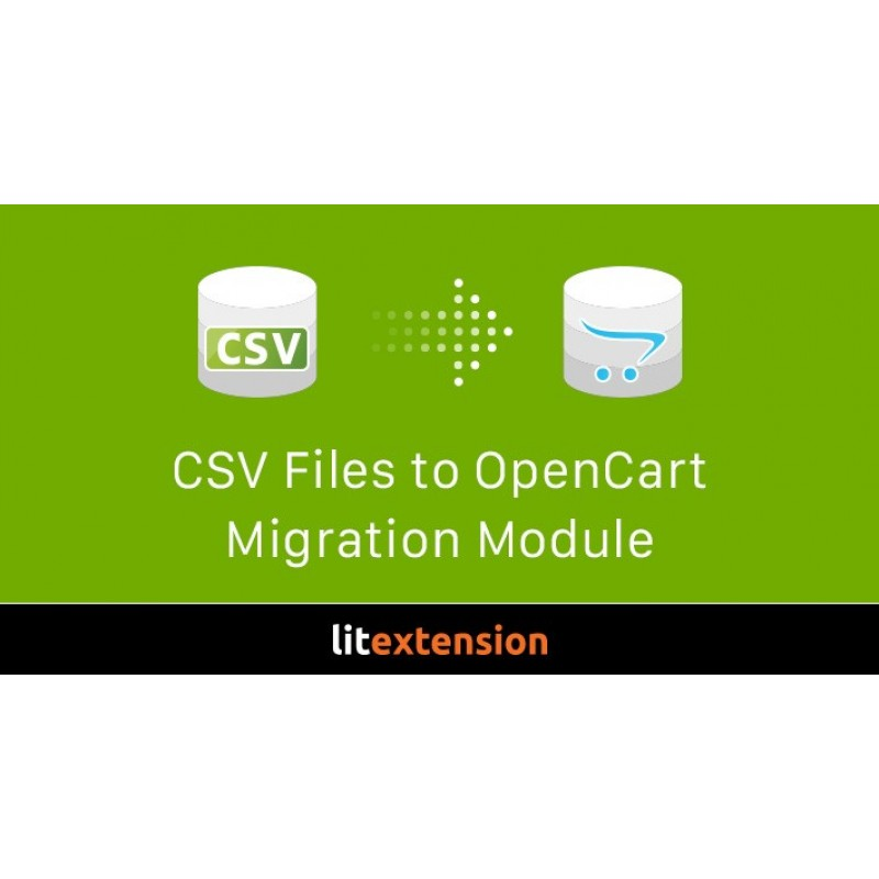 Import CSV to OpenCart