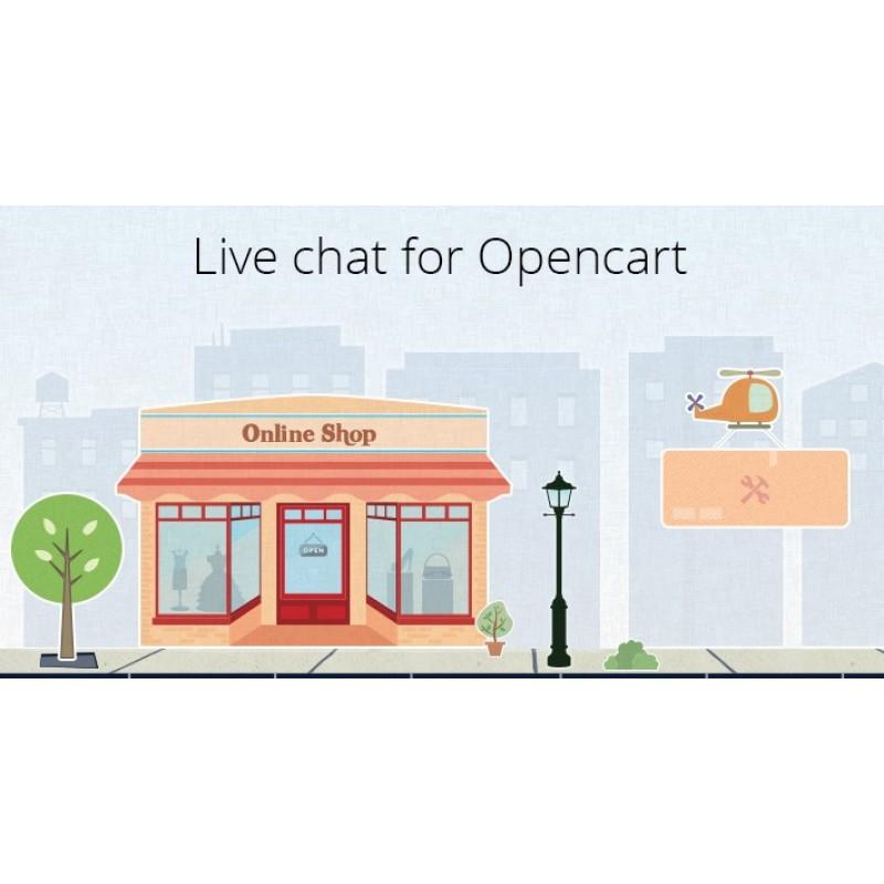 HubTalk - Live chat for Opencart