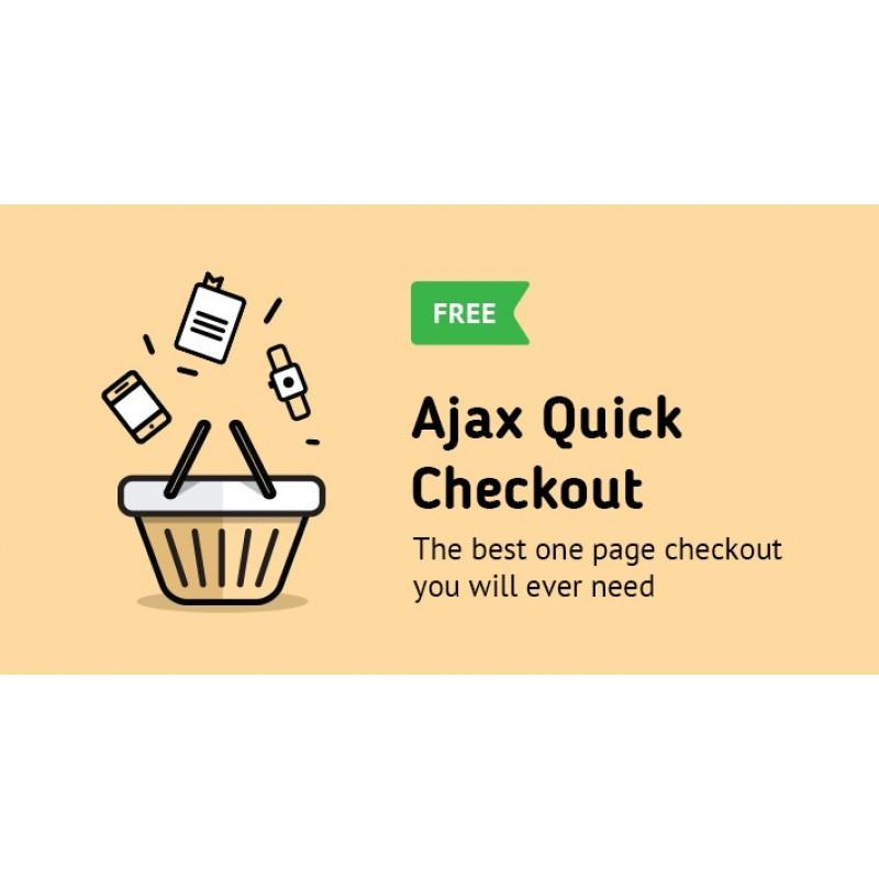 AJAX Quick Checkout FREE (One Page Checkout, Quick Checkout)