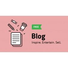 Добавьте Модуль в блог свободно