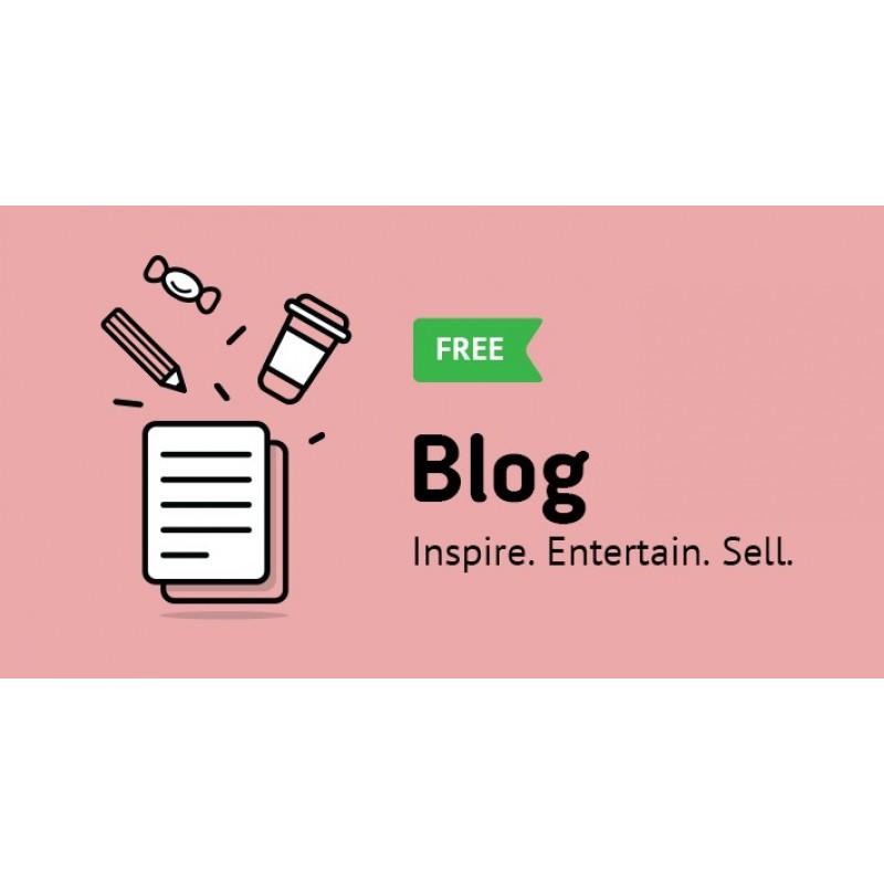Blog Module FREE