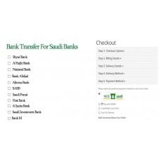 Bank Transfer For Saudi Banks
