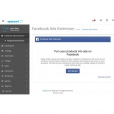 Facebook for OpenCart, foto - 2