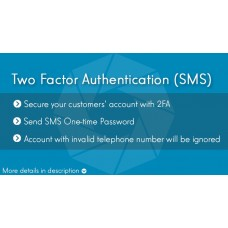 Two Factor Authentication (SMS)
