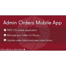 Мобильное Приложение заказы админа