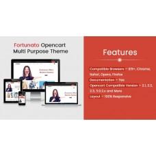 Fortunato Multi Purpose Responsive Theme, foto - 1