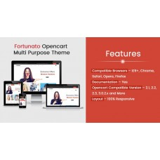 Fortunato Multi Purpose Responsive Theme, foto - 1