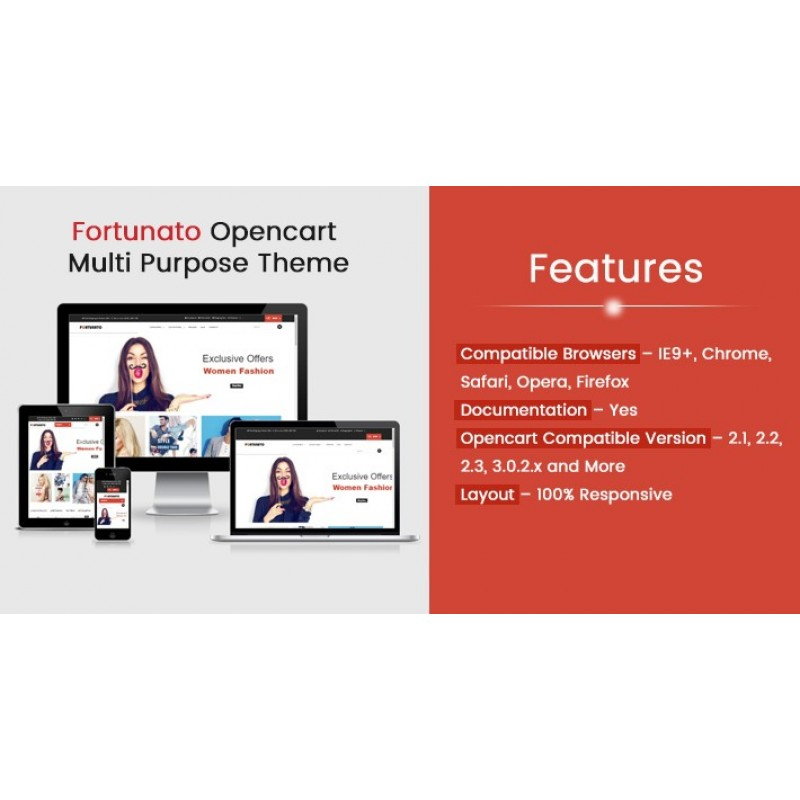 Fortunato Multi Purpose Responsive Theme