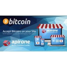 Шлюз Apirone для оплати Bitcoin