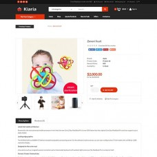 Kiaria Opencart Multi Purpose Opencart Responsive Theme, foto - 2