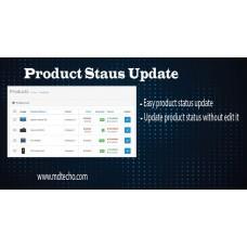 Admin Product Status Update