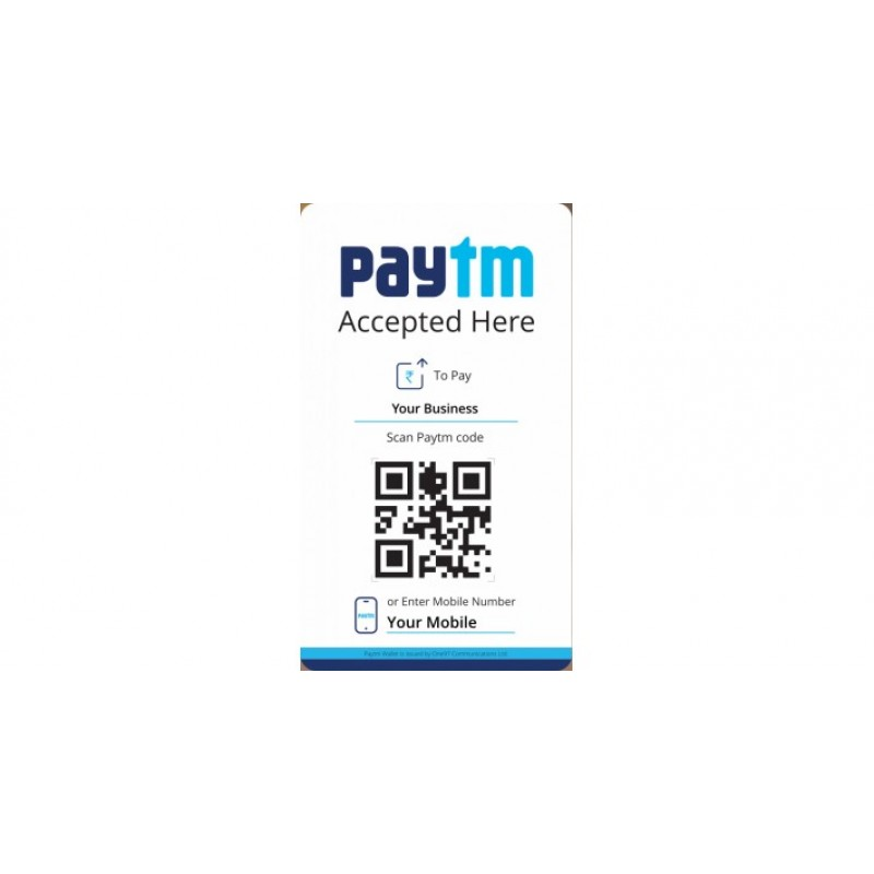 PayTM QR Code Based Payment