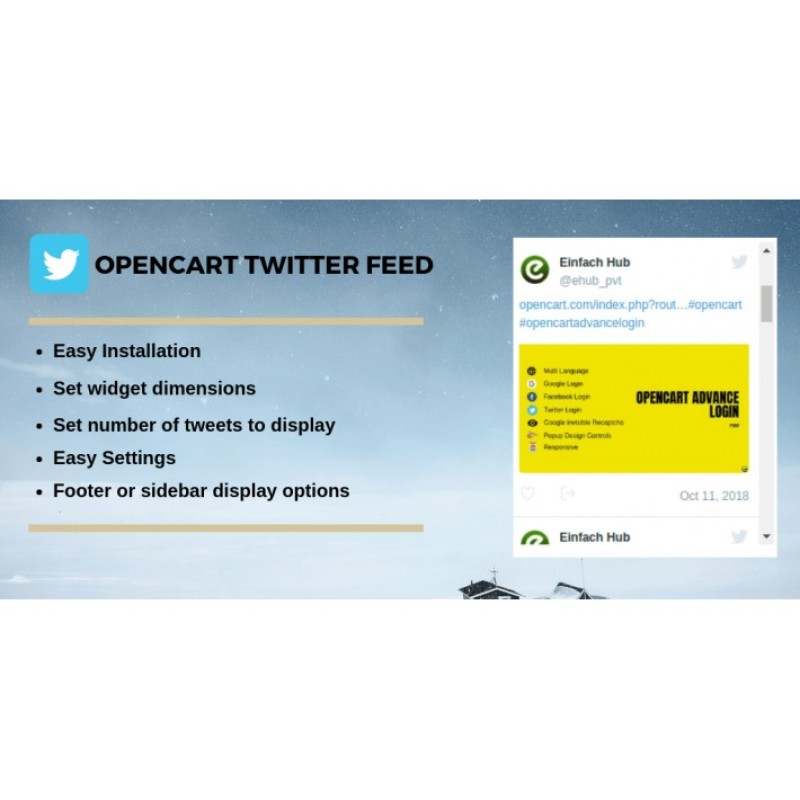 Сторінка з Twitter