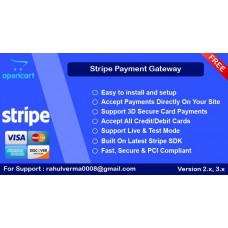 Stripe with 3D Secure Payment Support