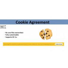 Модуль дозволу Cookie