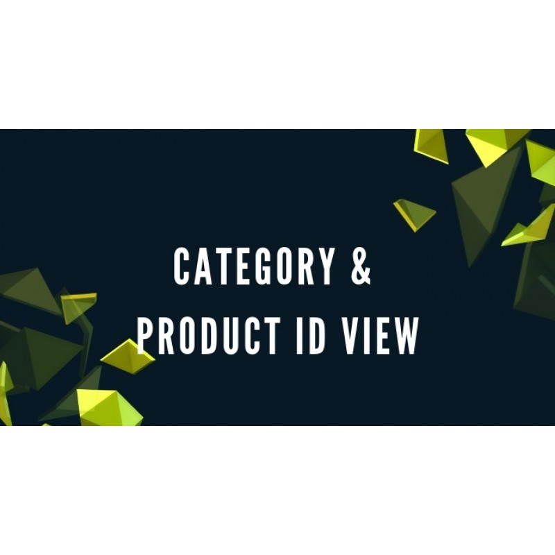 ID категорії та товару