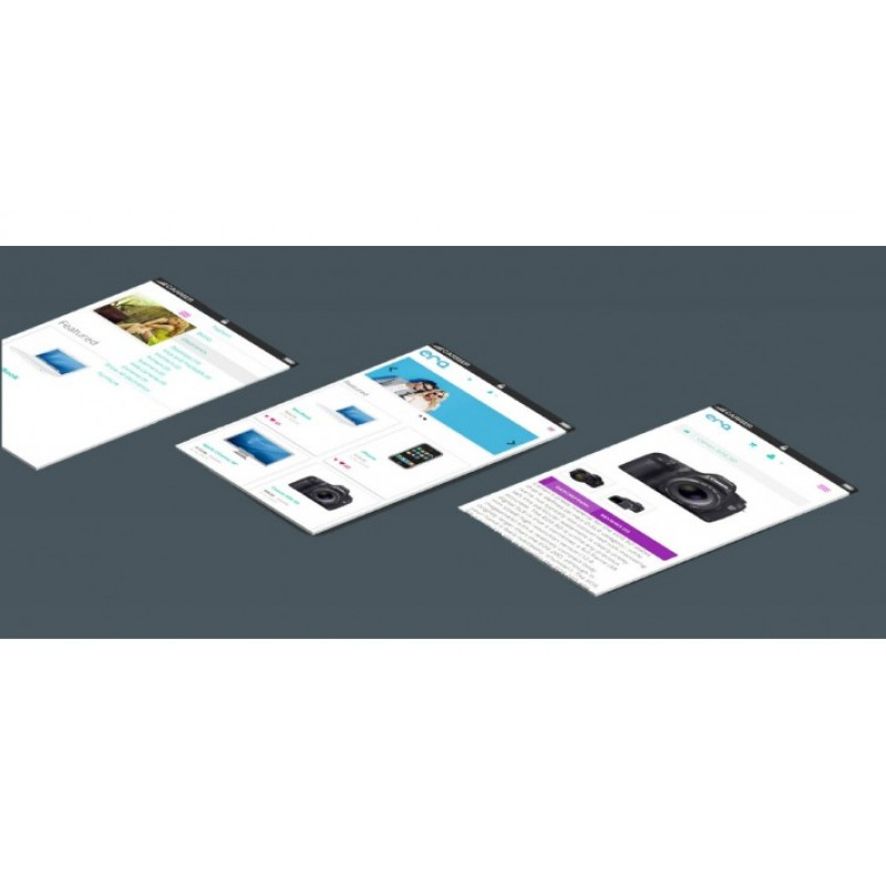 Material Design Theme for Opencart