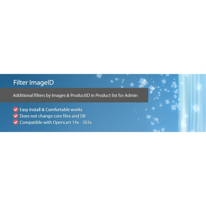 FilterImageID - admin filter by product image and id