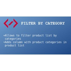 Filter By Category, foto - 1
