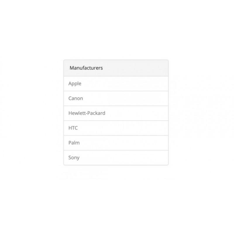 OCappLab - Manufacturers Module