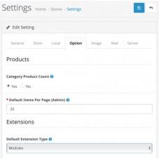 Default Extension Type Setting, foto - 2