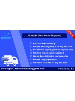 Multiple Geo Zone Shipping, foto - 1