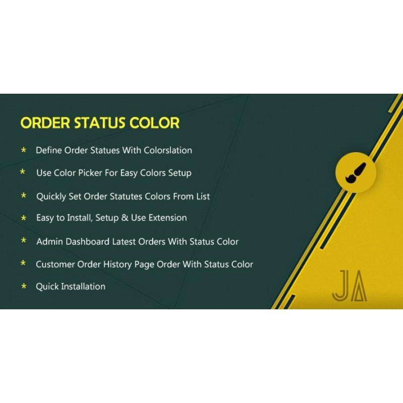 Цвет статуса заказа