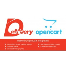 Delhivery Lastmile Open Cart Integration, foto - 1