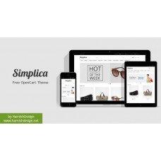 Simplica - Вільно Тема OpenCart , foto - 1