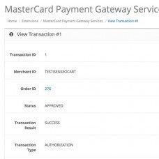 MasterCard для OpenCart , foto - 6