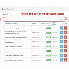 Admin extensions filters and sort, foto - 6