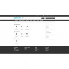 Free Opencart theme with improvements blue or dark color, foto - 4