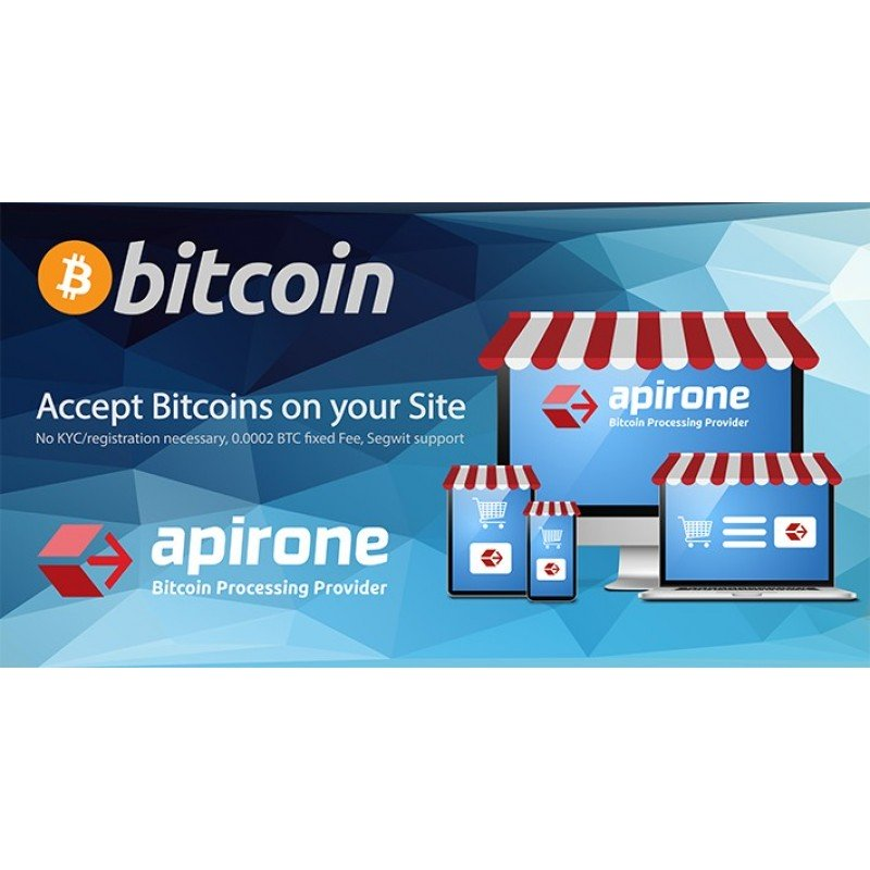 Accept Bitcoin Payments via Apirone Gateway