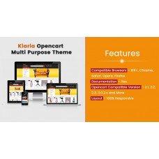 Kiaria Opencart Multi Purpose Opencart Responsive Theme, foto - 1