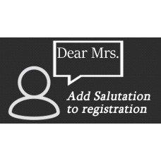 Add Salutation Field