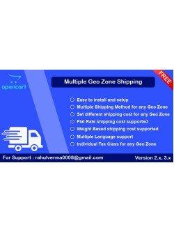Multiple Geo Zone Shipping, foto - 1