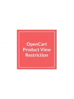 OpenCart Product View Restriction