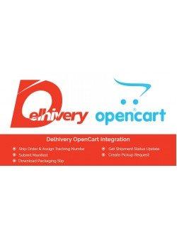 Delhivery Lastmile Open Cart Integration, foto - 1